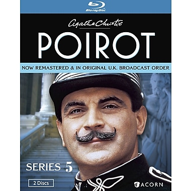 Agatha Christie's Poirot Series 5 (Blu-Ray)