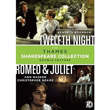 Shakespeare Double Feature - Classic Love Stories - Romeo & Juliet/Twelfth Night (DVD)