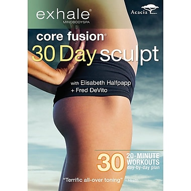 Exhale - Core Fusion 30 Day Sculpt (DVD)