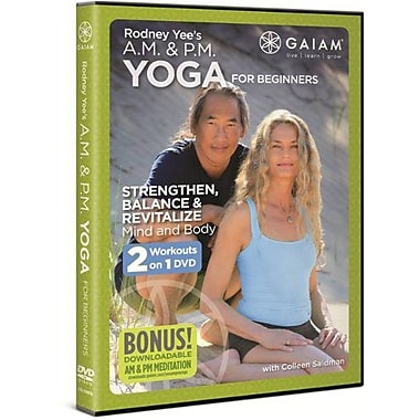 Rodney Yee's A.M. & P.M. Yoga for Beginners (DVD)