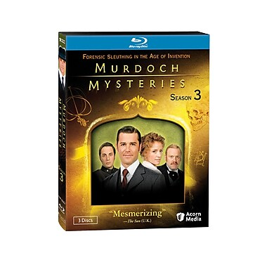 Murdoch Mysteries: Season 3 (Blu-Ray)