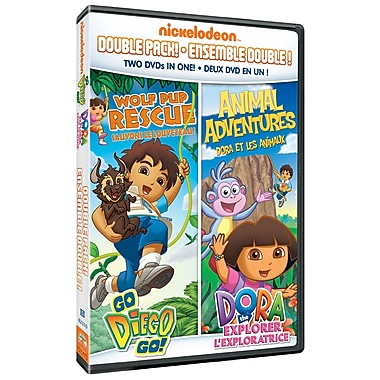 Dora & Diego: Diego: Wolf Pup Rescue/Dora: Animal Adventures (DVD)