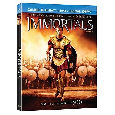 Immortals (Blu-Ray + DVD + Digital Copy)