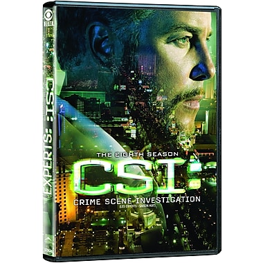 CSI Vegas: S8 (DVD)