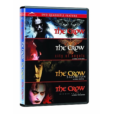 The Crow Quadruple Feature (DVD)