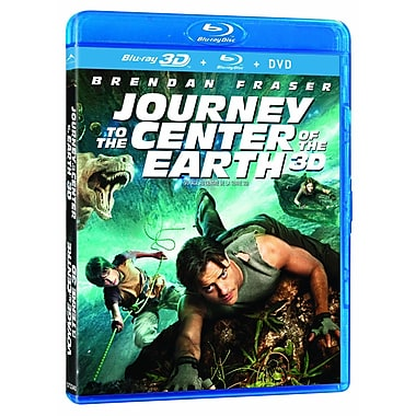Journey to the Centre of the Earth 3D (Blu-Ray + DVD)