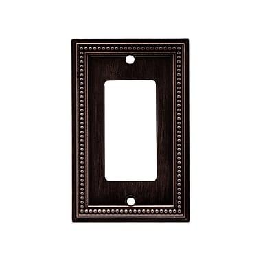 Brainerd® Beaded Single Decorator Wall Plate, Venetian Bronze, 2/Pack