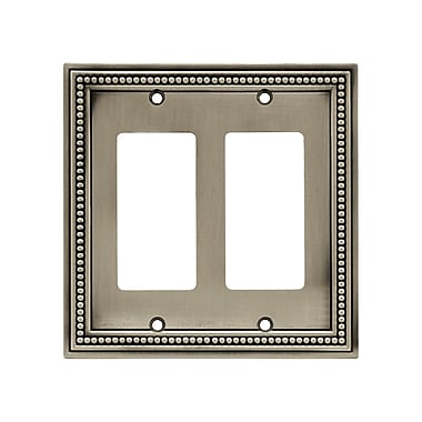 Brainerd® 2/Pack Beaded Double Decorator Wall Plates