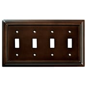 Brainerd® Architectural Quad Switch Wall Plates