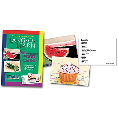 Lang-O-Learn Flash Cards, Foods