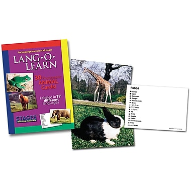 Lang-O-Learn Flash Cards, Animals
