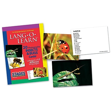 Lang-O-Learn Flash Cards, Insects and Bugs