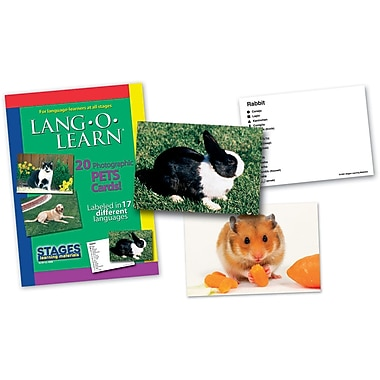 Lang-O-Learn Flash Cards, Pets