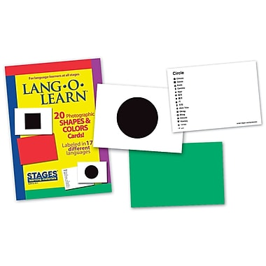 Lang-O-Learn Flash Cards, Shapes and Colours