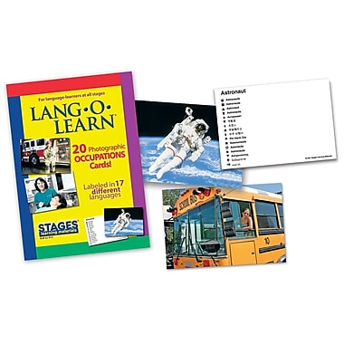 Lang-O-Learn Flash Cards, Occupations
