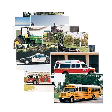 Real Life Learning, Vehicles Posters Set