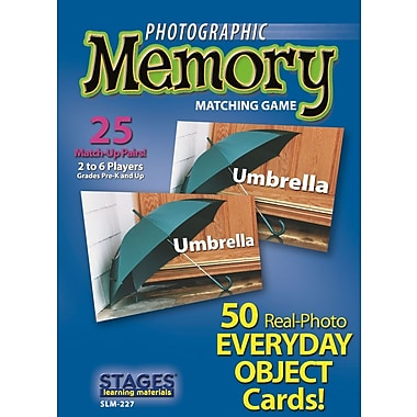 Photographic Memory Game Value Pack, Foods