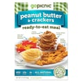 GoPicnic® Ready-To-Eat Meals Peanut Butter & Crackers, All-Natural, 5.9 oz.