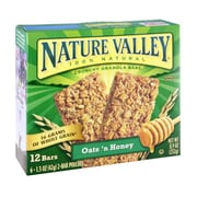 Nature Valley Oats N Honey Crunchy Granola Bars , 1.5 oz., 96/Pack