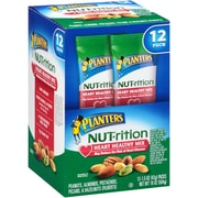 Planters Nut-rition Heart Healthy Mix, 1.5 oz. Bag, 2 Boxes, 24/Pack