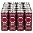 Izze All Natural Sparkling Juice, Blackberry, 8.4 oz. Can, 24/Pack