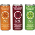 Izze® All Natural Sparkling Juice, Variety Pack/8 Blackberry/8 Apple/8 Clementine