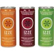 Izze All Natural Sparkling Juice, Variety Pack/8 Blackberry/8 Apple/8 Clementine