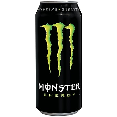 Monster Energy Drinks, 16 oz. Cans, 24/Pack