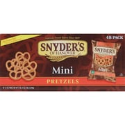 Snyder s of Hanover Mini Pretzels, 1.5 oz., 96/Pack