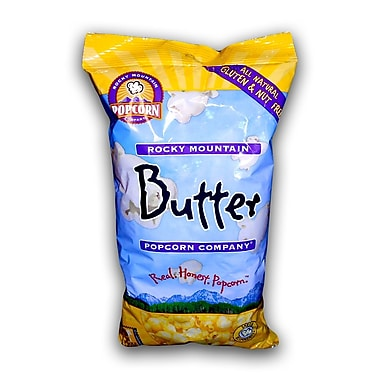Rocky Mountain All Natural/Gluten & Nutfree Butter Popcorn, 3 oz., 24/Pack