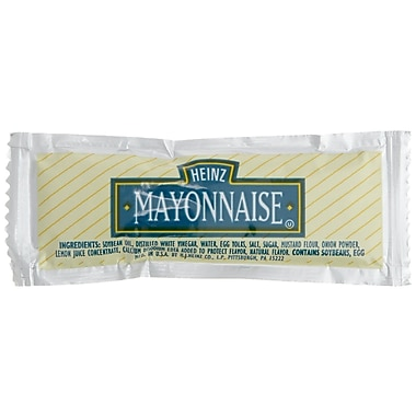 Heinz Mayonnaise, 12g, 200/Pack