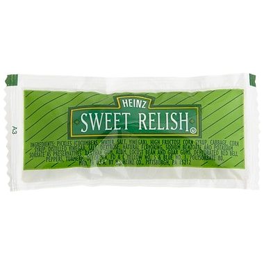 Heinz® Sweet Relish, 9g, 200/Pack