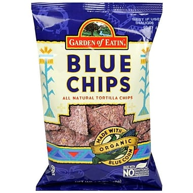 Garden of Eatin All Natural Tortilla Chips, Blue Chips, 1.5 oz., 24/Pack