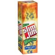 Slim Jim Monster Honey BBQ Meat Sticks, 1.94 oz. 18/Pack