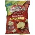 Orville Redenbacher s Sharp White Cheddar Gourmet Popcorn , 1.5 oz. Peg Bag, 18/Pack