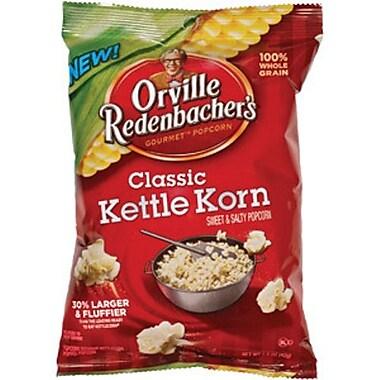 Orville Redenbacher s Kettle Classic Sweet & Salty Gourmet Popcorn , 1.5 oz. Peg Bag, 18/Pack