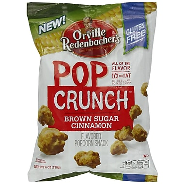 Orville Redenbacher's Brown Sugar Cinnamon Pop Crunch, 2.1 oz. Peg Bag