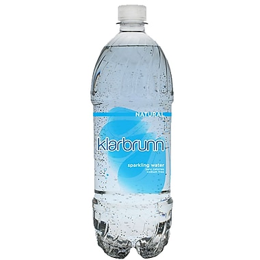 Klarbrunn Sparkling Water Natural Flavor, 20 oz. Bottle, 24/Pack