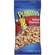 Planters Salted Peanuts, 6 oz. Peg Bag, 12/Pack