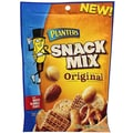 Planters® Original Snack Mix With Roasted Almonds & Peanuts, 6.5 oz. Gusseted Peg Bag