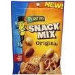 Planters Original Snack Mix With Roasted Almonds & Peanuts, 6.5 oz. Gusseted Peg Bag, 9/Pack