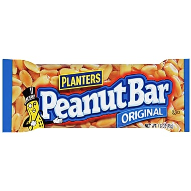 Planters Peanut Bars Original, 1.6 oz., 48/Pack