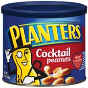 Planters Cocktail Peanuts, 12 oz., 6/Pack