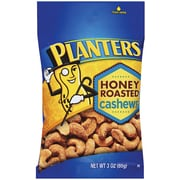 Planters Honey Roasted Cashew, 3 oz., 16/Pack