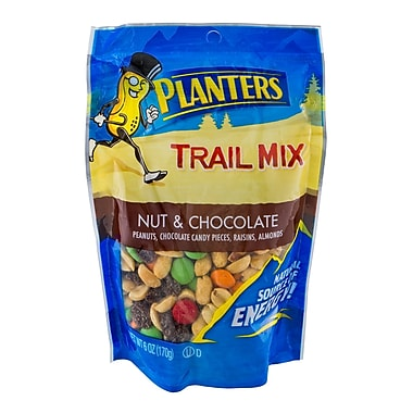 Planters® Nut and Chocolate Trail Mix, 6 oz., 10/Pack