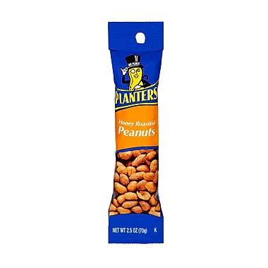 Planters Honey Roasted Peanut, 2.5 oz., 24/Pack