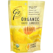 Go Naturally Organic Honey Lemon Hard Candy, 3.5 oz. Bag, 12/Pack