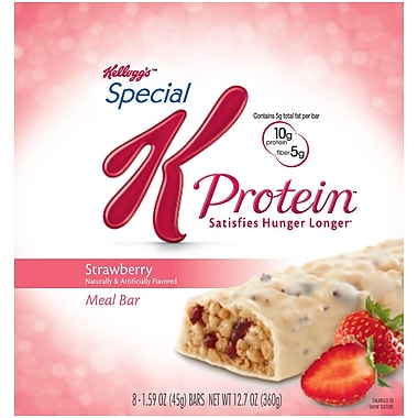 Kelloggs™ Special K Protein™ Strawberry Meal Bars, 1.59 oz. Bars, 16/Pack