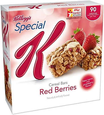 Image of Kelloggs Special K Cereal Bar Red Berries, 0.81 oz., 36/Pack