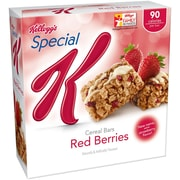Kelloggs Special K Cereal Bar Red Berries, 0.81 oz., 36/Pack